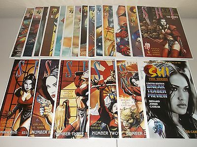 Shi: The Series #1-13 + variants (Lot of 20) Rare variants  + preview  Crusade