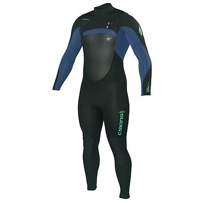 C-Skins Legend 3/2Mm Mens Full Chest Front Zip Wetsuit Surf Surfing New Xl