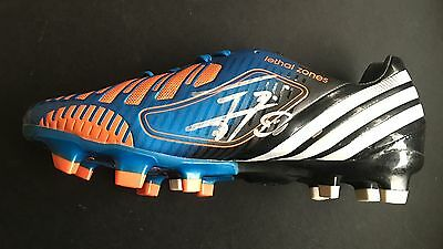 Edinson Cavani Signed Psg Uruguay Football Boot+Photo Proof*see Cavani Sign*