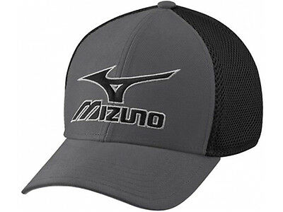 Mizuno Phantom Cap - Charcoal/Black