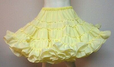 Pongee Square Dance Petticoat By Eva's Petticoats Yellow