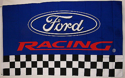 big NEW car flag racing banner flags black 3x5FT free shipping for ford Flag