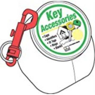 HY-KO PROD Office Storage Accessory , 100 Pack Plas Key Clip (KT171)