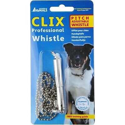 Clix Professional Whistle Dog Training Puppy Obedience