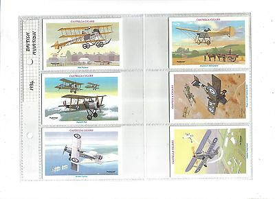 Wills Castella British Aviation.Issued 1994.Full set of 30 in sleeves.