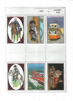 Wills Castella Golden Era.Issued 1999.Full set of 10 in plastic sleeves.
