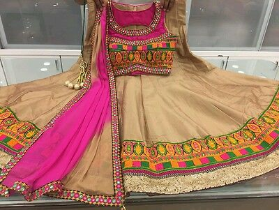 Indian Pakistani Bollywod Designer Ethnic Salwar Kameez Lehenga Choli Dress SH43