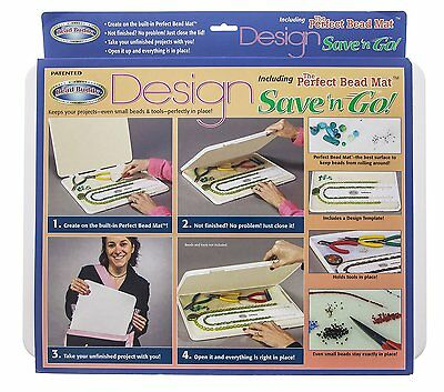 Bead Buddy, Design Save and Go 16x12x1in - BUD62