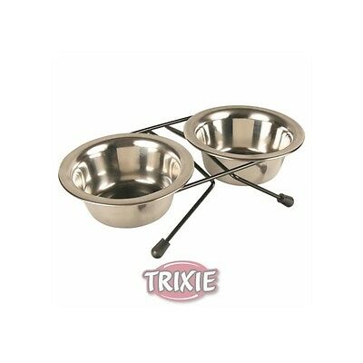 Trixie Eat on Feet Napf Set | Doppelnapf 2x 1,8 Liter