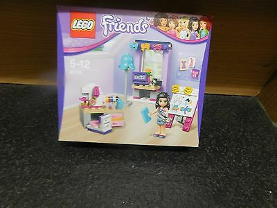 BRAND NEW BOXED LEGO Friends 41115: Emmas Creative Workshop FREE POSTAGE