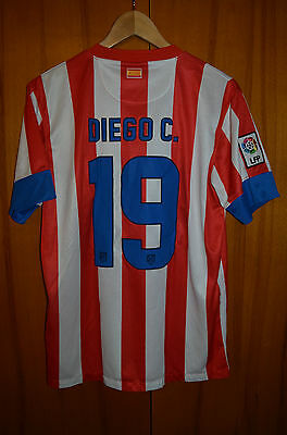 Atletico Madrid Spain 2013 Cup Final Football Shirt Camiseta Nike Diego Costa