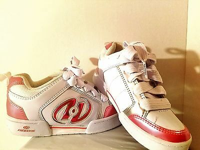 HEELEYS Shoes YOUTH Girls  Pink White Roller Skates Size 4  35