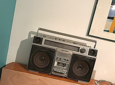 1980s Clairtone Model 7978 boombox / Made in Japan / as is