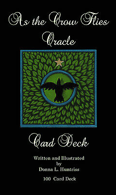 As the Crow Flies Oracle Card Deck Factory sealed