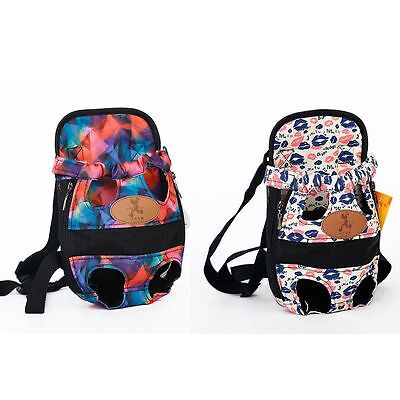 Puppy Pet Dog Backpack Front Bag or Back Pack Carrier Pouch Holder With Legs Out