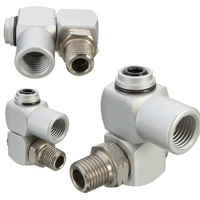 Swivel Air Connector 1/4'' BSP Standard Fitting Universal Joint Tool Dia 12mm