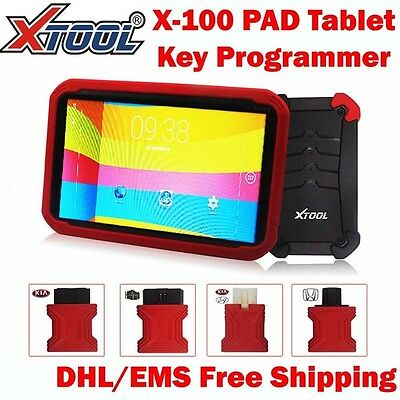 XTOOL X-100 PAD Tablet Auto Programmer Diagnostic Tool with EEPROM Adapter