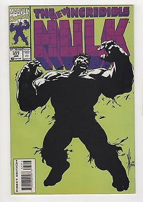 INCREDIBLE HULK no. 377 3rd print VERY RARE NM 9.4
