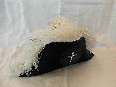 OLD KNIGHTS of PYTHIAS/MASONIC CEREMONIAL-FRATERNAL HAT/ AMES SWORD CO. c.1925