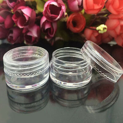 50 Pieces Cosmetic Sample Containers 5 Gram Plastic Cream Pot Jars Splendid