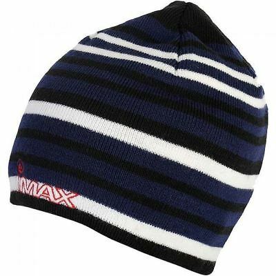 Imax Striped Knitted Beanie