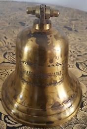 Lovely Collectable Hms  Brass Sydney  Door Bell