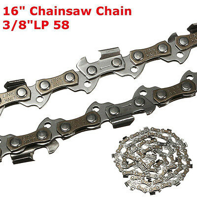 Replacement Chainsaw Saw Chain Blade 16''/40cm 58 Links 3/8'' LP Generic