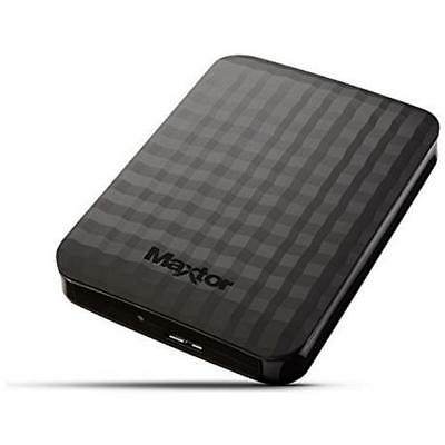 SEAGATE Hard Disk Portatile Maxtor M3 Portable 1 TB Interfaccia USB 3.0 Nero