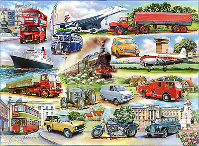 The House Of Puzzles - 1000 PIECE JIGSAW PUZZLE - Golden Oldies Transport