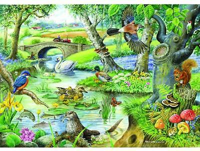 The House Of Puzzles 500 BIG PIECE JIGSAW PUZZLE - Tales of The River Big Pieces