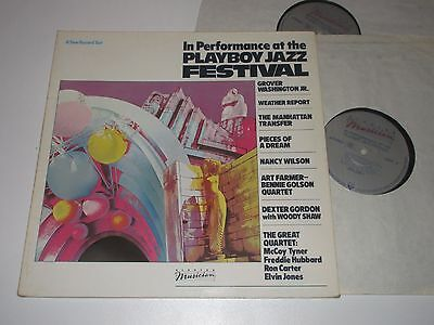 2Lp/in Performance At The Playboy Jazz Festival/weather Report/art Farmer/960298