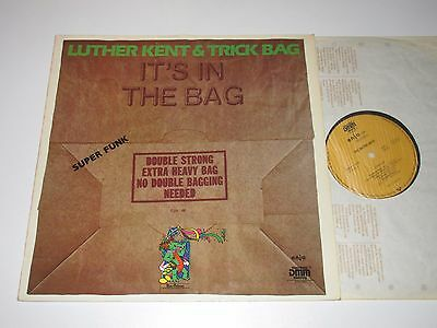 LP/LUTHER KENT & TRICK BAG/IT'S IN THE BAG/Enja 4066