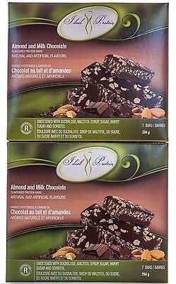 Ideal Protein Almond and Milk Chocolate Protein Bars - 14 Bars