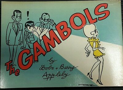 The Gambols, Newspaper Comic Strip Book No 17, 1968 Edition by Dobs and Barry