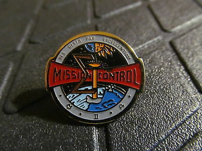 Mission Control  Lapel Pin