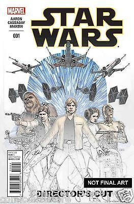 Star Wars #1 (2015) Director's Cut Marvel 1St Printing Bagged & Boarded