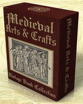 MEDIEVAL ARTS & CRAFTS 50 Rare Vintage Books On DVD Art of the Middle Ages