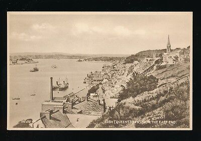 Ireland Co Cork COBH Queenstown from East End Valentine's Series c1920/30s? PPC