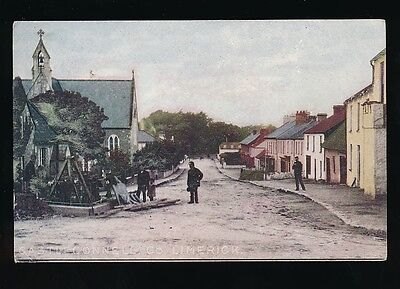 Ireland Co Limerick CASTLE CONNELL Used 1905 PPC Emerald Series