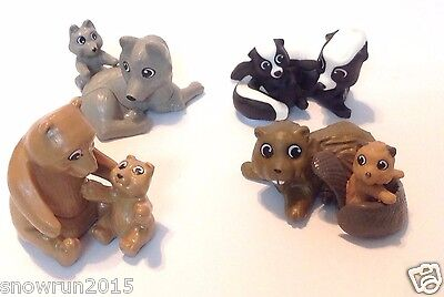 Complete Set Kinder Toys Natoons Sd111 Sd112 Sd143 Sd179