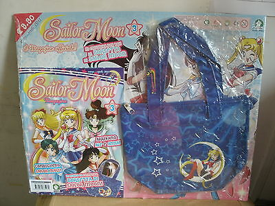 Sailor Moon  Magazine Ufficiale N° 3 In Regalo La Borsetta Di Sailor Moon