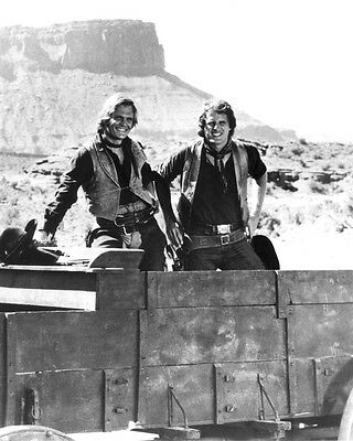 Alias Smith and Jones Ben Murphy Roger Davis with mountains 8x10 Photo