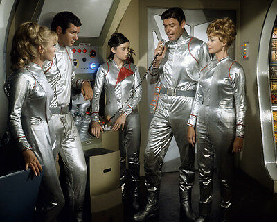 Lost in Space Guy Williams Angela Cartwright June Lockhart Jupiter 2 8x10 Photo
