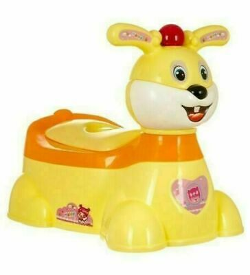 Kid Child Toddler Potty Trainer Loo Training Toilet Seat Chair High Back Rest