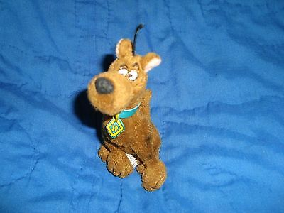 "HANNAH BARBERA 2000 Scooby-Doo Small Plush & Beans 4.5"" tall"
