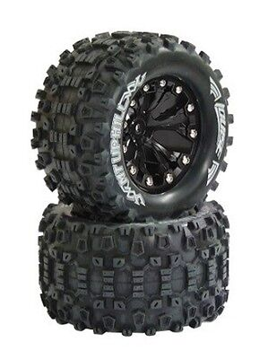 """052860 - Coppia gomme 1/10 Monster Truck MT UPHILL 2.8"""" Soft"""