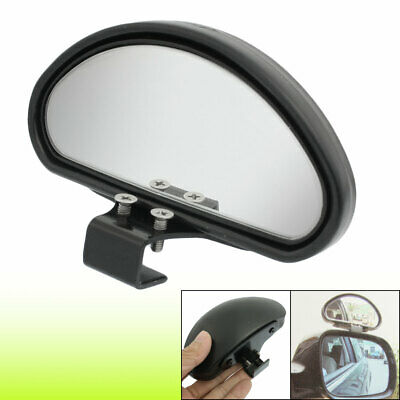 Adjustable Arch Convex Black Car Side Blind Spot Mirror Wide Angle Rear View