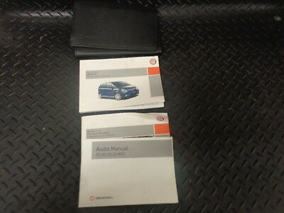 2007 Vauxhall Meriva 1.4I 16V 5Dr Owners Manual/handbook With Cover