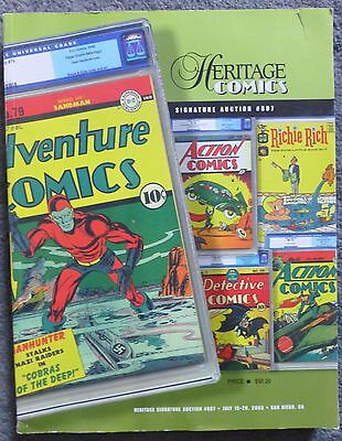 Heritage Comics Signature Auction Catalog #807