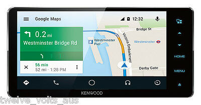 """Kenwood DDX916WS 7"""" Built-in Bluetooth Android Auto Toyota 200mm Car Stereo"""